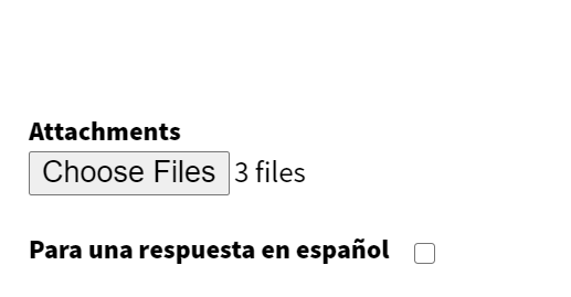Image confirming number of files selected